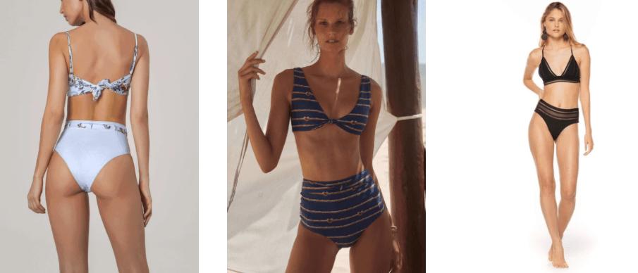 High Waisted Swimwear