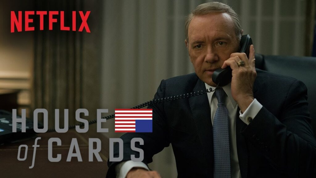 House of Cards Netflix Original Web Series to Watch